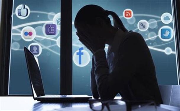 depressed on computer